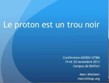Conférence Marc Mistiaen