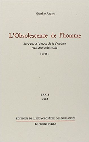 obsolescence de l'homme
