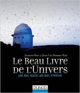 le beau livre de l'univers