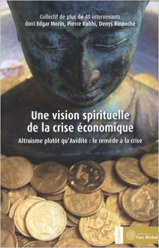 vision spirituelle de la crise économique